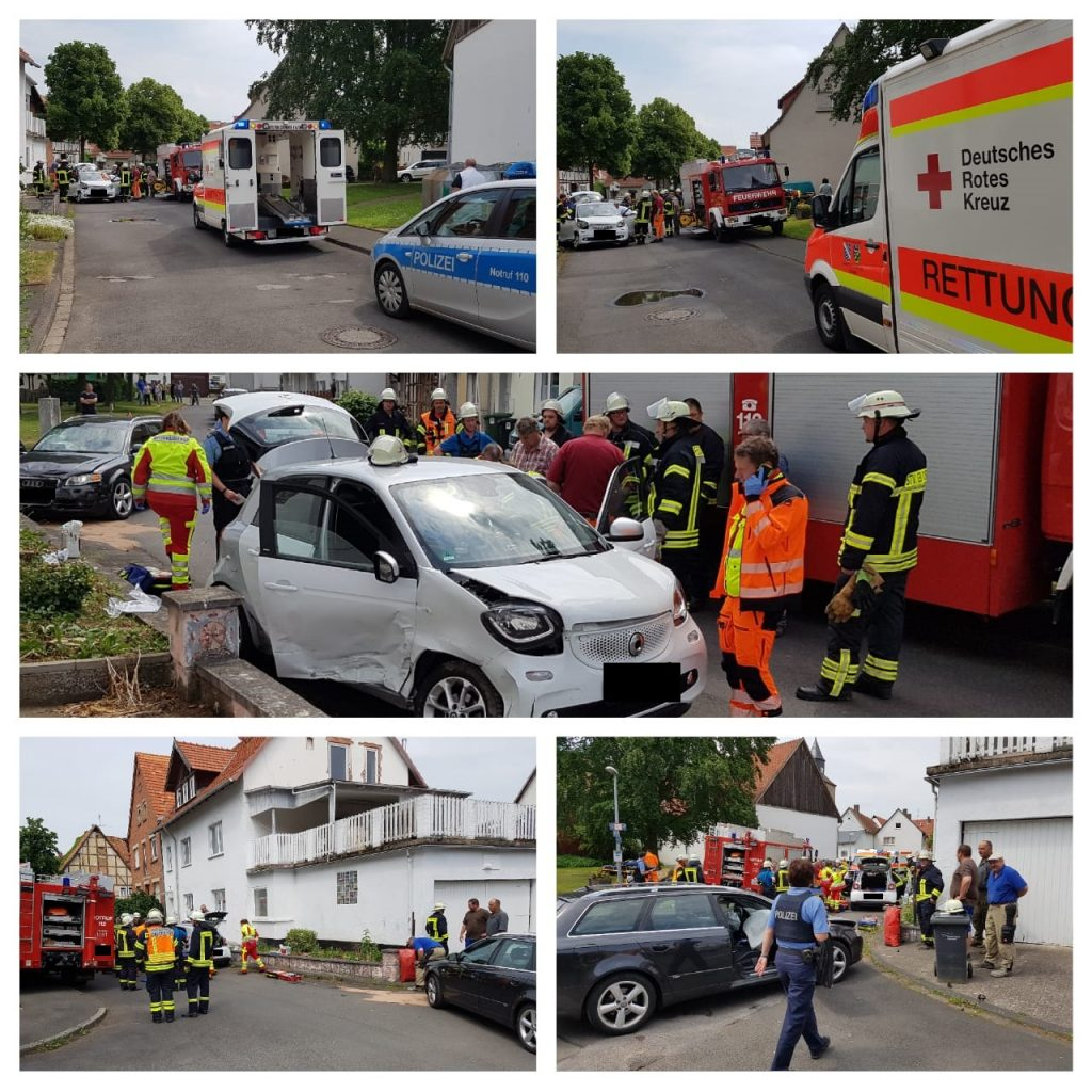 Autounfall 23.05.2018 – Freiwillige Feuerwehr Westuffeln